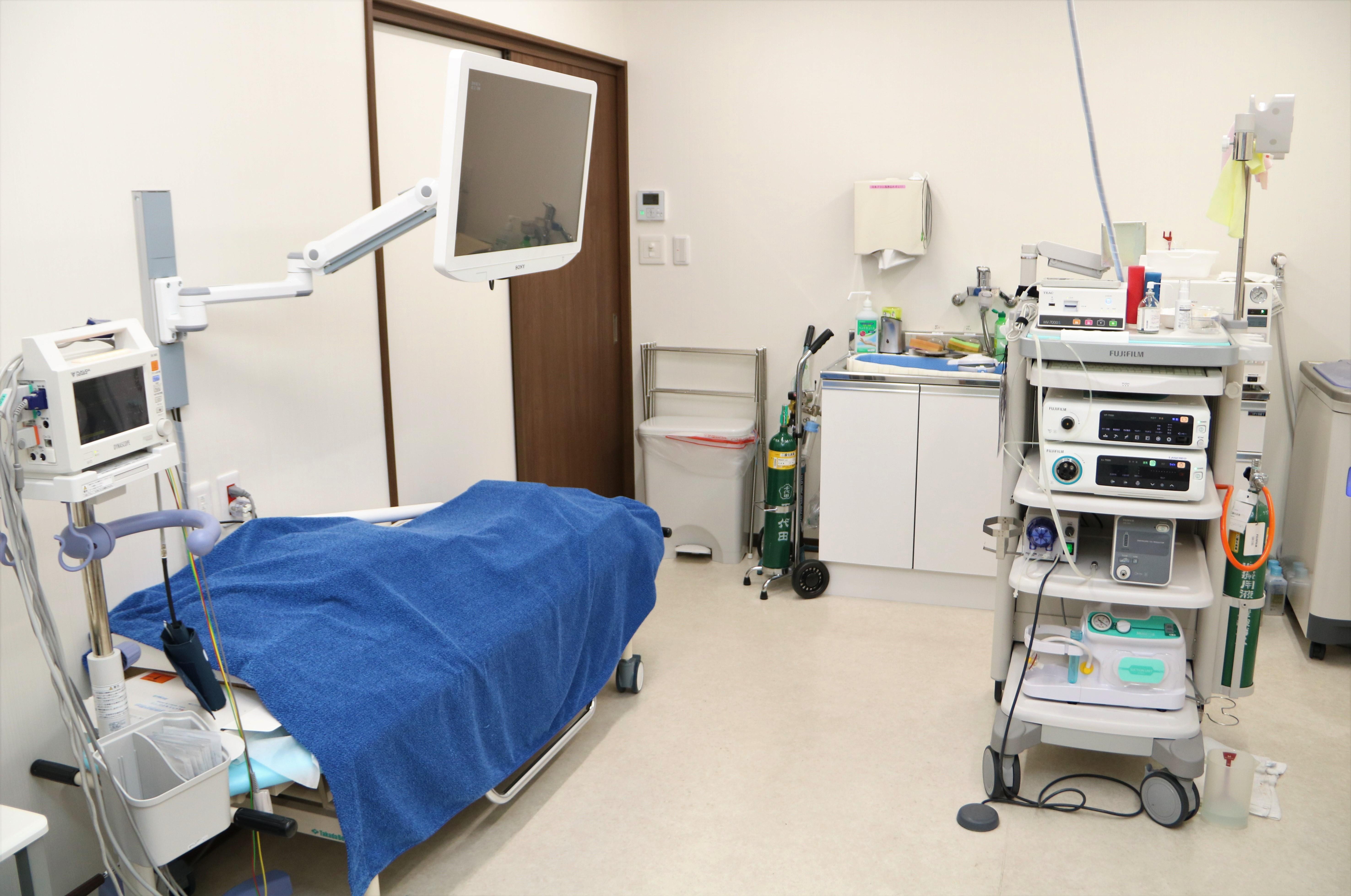 ふしや内科・消化器内科クリニック検査室