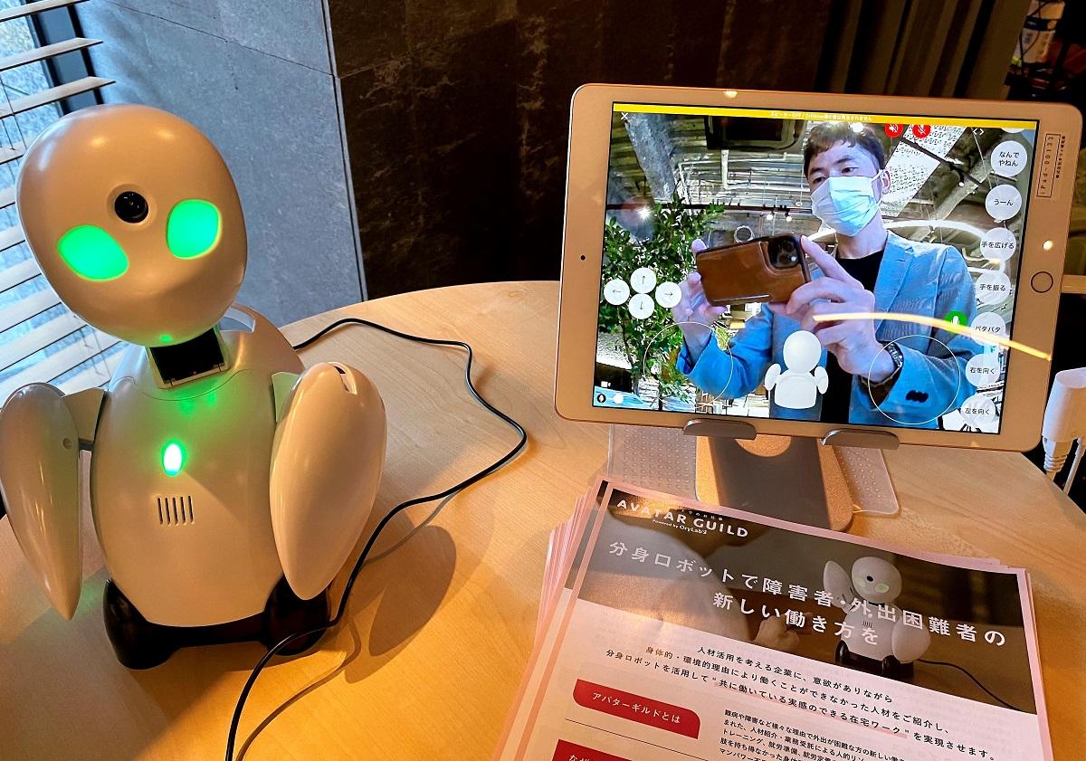 分身ロボットカフェ・オリヒメ操作体験